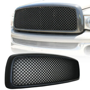 02 03 04 05 Dodge Ram 1500 2500 3500 Grille Carbon Fiber Abs Mesh Replacement