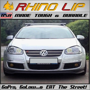 Vw Estate Sp2 Citi Golf Lavida Polo Gt Gli Spoiler Splitter Rubber Chin Lip Trim