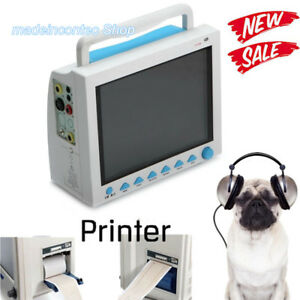 Vet Veterinary Patient Monitor Multi parameter Monitor With Printer Usa Newest