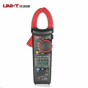 Uni t Ut213c Digital Lcd Clamp Meter Multimeter Ac dc Voltage Amp Ohm Cap Ncv Te