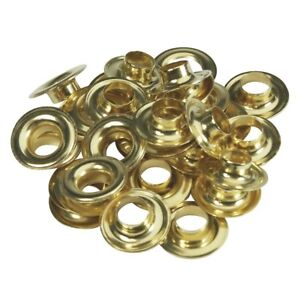 24 Packs Lord Hodge Brass 3 8 Grommet Refills 1074 2
