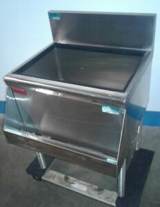 Prestige Under Bar Ice Bin With 8 Circuit Cold Plate Speed Rail Our 3