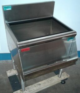 Prestige Under Bar Ice Bin With 8 Circuit Cold Plate Speed Rail Our 4