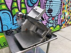 Globe 500 Slicer Meat Cold Cuts Cheese Deli 1 3 Hp 115 Volt Used