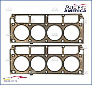 2 Oe Spec Head Gasket Ls Engines 4 8l 5 3l 5 7l 2002 2014 gm Ref 12589226