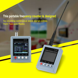 Sf 103 Portable Frequency Counter Tester Meter 2mhz 2 8ghz tft Color Display Jj