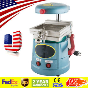 Usa Ship Dental Lab Vacuum Forming Molding Machine Former Heat Thermoforming Ce