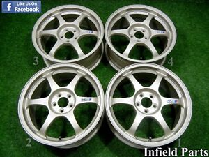 Jdm 17 Speed Star Ssr Type C 17x7 5 50 5x100 Rims Lexus Ct200 Subaru Eg519
