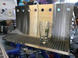 Stainless Steel 8 Faucet Tapwall Style Drip Tray Brewery Draft Beer Hardware