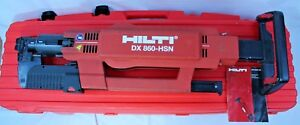 Hilti Dx 860 hsn Automatic Powder Actuated Tool Nail Decking Roofing Nailer