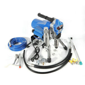 220v Spraying Machine Airless Wall Paint Sprayer 25mpa Spray Gun High Pressure