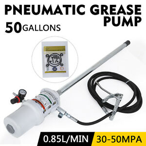 50 Gallon Grease Pump Lubricator 30 60 Mpa Us Stock 200 Liters 0 85 L min Great