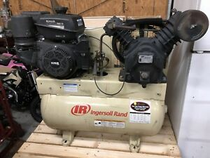 Ingersoll Rand T30 Air Compressor Kohler Command Pro 14 Engine