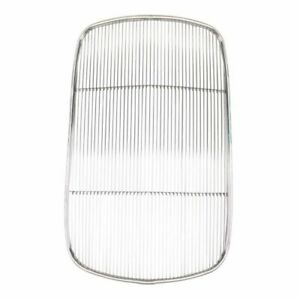 Original Style 1932 Ford Passenger Stainless Steel Grille Insert W O Crank Hole