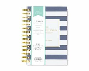 Day Designer For Blue Sky 2018 2019 Academic Year Daily Monthly Planner Flexi