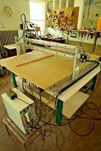 4 x4 x8 Complete Cnc Router Spindle Stepper Motors Mach 4 Table And More