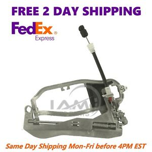 For 00 06 Bmw X5 Front Outside Door Handle Carrier Left Driver S Side E53