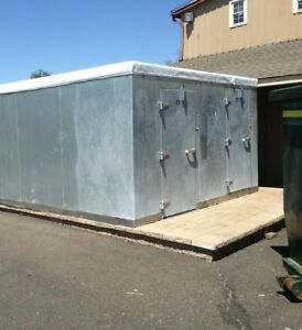 14x8x7combo Walk In Box Walk In Free Cooler Self Contain 2 Doors Ready To Go