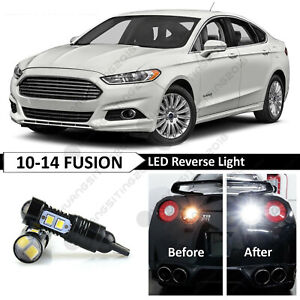 2 White High Power 921 Reverse Backup Led Lights Bulb Fits Ford Fusion 2010 2014