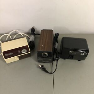 Electric Pencil Sharpener Lot Panasonic Kp 110 Kp 77 Kp 310