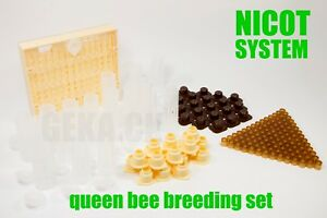 New Nicot 100 Queen Rearing Kit Queen Bee Raising System Breeding Set