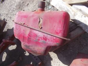 Farmall 400 450 Rc Ihc Ih Tractor Big Udder Gas Tank With Cap No Belt Pulley