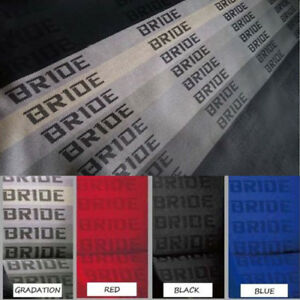 Jdm Bride Fabric Racing Seats Cover Interior Decoration Material 2m X 1 6m