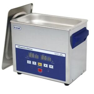 3l Timer Heated Ultrasonic Cleaner Stainless Steel Dr lq30 Digital Control