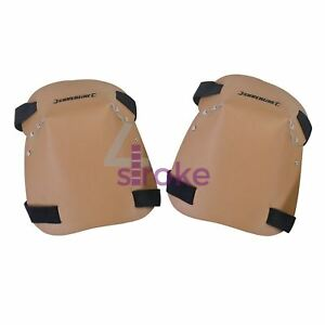 Leather Knee Pads One Size Extra Thick Felt Liners And Leather Outer Skin