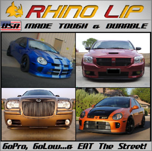 Dodge Caliber Challenger Charger Colt Conquest Starion Rubber Flexible Chin Lip