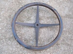 Original Vintage 1900s Wooden Steering Wheel Buick Oldsmobile Chrysler Essex