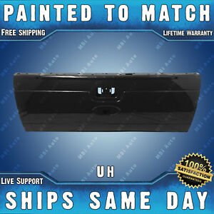 New Painted Uh Black Tailgate Shell For 2008 2016 Ford F250 F350 Super Duty