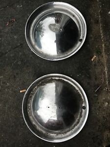 1950 1949 1951 Lincoln Hubcaps Pair Kustom Smoothie 15
