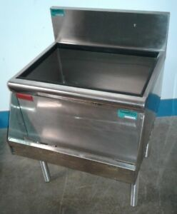 Prestige Under Bar Ice Bin With 8 Circuit Cold Plate Speed Rail Our 8