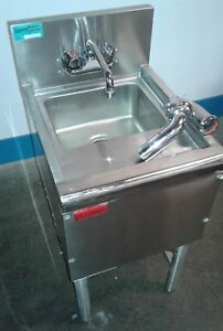 Commercial Single Ss Under Bar Sink Bar Hand Sink Dump Station Our 2