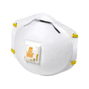 3m 8511 N95 Dust Particulate Respiratory Protection W valve Various Quantities