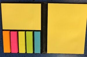 Sticky Flag Note Pad With Pouch And Box Different Sizes Colors 80 Quantity