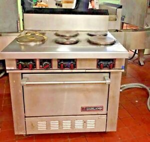Garland Electric Range 6 Burner 3 Phase