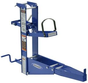 Steel Pump Jack Exclusive Pole track System Reliable Performance Slip resistant
