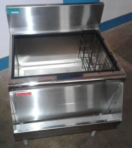 Prestige Under Bar Ice Bin With 8 Circuit Cold Plate Speed Rail Our 13