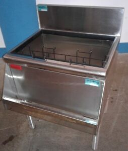 Prestige Under Bar Ice Bin With 8 Circuit Cold Plate Speed Rail Our 16