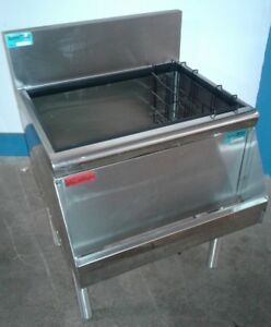 Prestige Under Bar Ice Bin With 8 Circuit Cold Plate Speed Rail Our 17