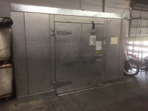 12 x12 x93 Arctic Walk In Freezer cooler W larkin Cooling