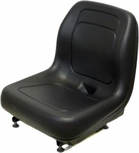 Ford New Holland Black Skid Steer Seat Fits Lx465 Lx485 Lx565 Lx665 Lx865 Etc