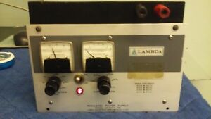 Lambda Lk 342a fm Regulated Power Supply