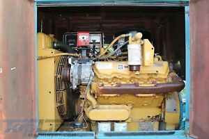 Cat Towable Diesel Water Pump 167 Orig Hrs 250hp Caterpillar Trailer Mounted