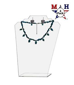 Marketing Holders Clear Necklace Display Easel 11 5 H Clear 4