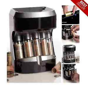 Coin Counter Sorter Automatic Machine Change Money Roller Battery Operated Money