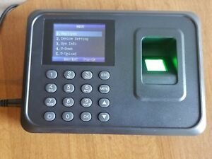 Usb Wifi Employee Payroll Fingerprint Time Attendance Scanner