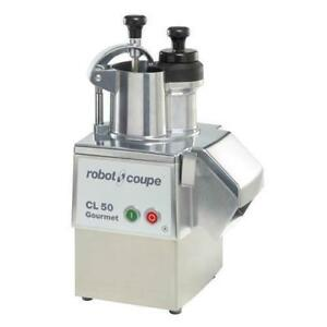 Robot Coupe Cl50 Gourmet Commercial Food Processor W Vegetable Attachment